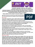 Dorset Out Newsletter 2015-08