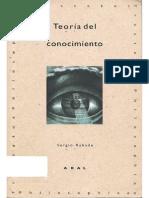 Rabade Romeo Sergio - Teoria Del Conocimiento