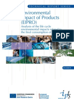 Technical Report Series - Environmental Impact of Products (EIPRO)
