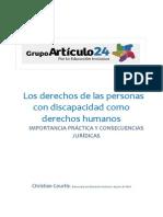 Los Derechos de Las Personas Con Discapacidad Como Derechos Humanos - Importancia Práctica y Consecuencias Jurídicas - Dr. Christian Courtis