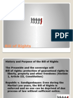 Bill of Rights Pol Law 1