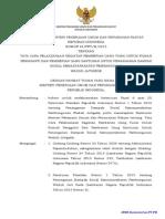 PERATURAN MENTERI PEKERJAAN UMUM DAN PERUMAHAN RAKYAT NOMOR 24/PRT/M/2015