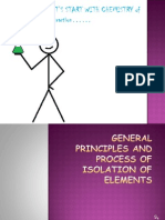 General Principles and Process of Isolation of Elements-1st Draft