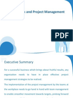 Team Work and Project Management