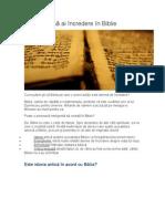 De Ce Poţi Să Ai Încredere În Biblie