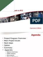 P11i Upgrade R12 07 May 2013