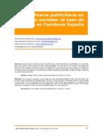 5.Eficacia Publicitaria en Redes Sociales El Caso de Mango en Facebook Espana
