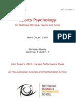 nic hardy  2015  - sports psychology