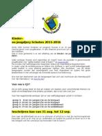 Info en inschrijvingsformulier KJV 2015-2016