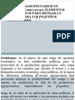Subsidios Agropecuarios en Colombia (1993-2014)