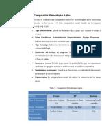 Metodologias agiles criterios de comparacion