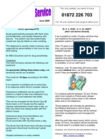 Acute GP Newsletter June 2009