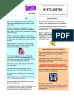 Acute GP Newsletter April 09