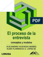 Acevedo Ibañez Alejandro - El Proceso de La Entrevista