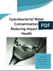 Cyanobacterial Water Contamination