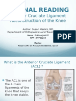 ACL Recon-patients Revised 2-11