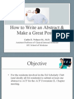how to write an abstract   make a great poster compressed