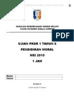 Exam Moral Thn 6