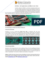 Metal Core PCBs (MCPCBs) - LED Applications and When to Use Them