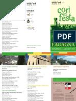 Cori in Festa 2015 - Fagagna_pieghevole