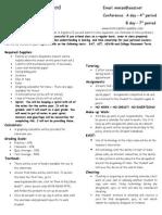 algebra ii guidelines - 6th