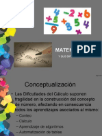Matematica Evaluacion aprendizaje matematico