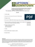SOBO Meeting August 27, 2015 Agenda Packet
