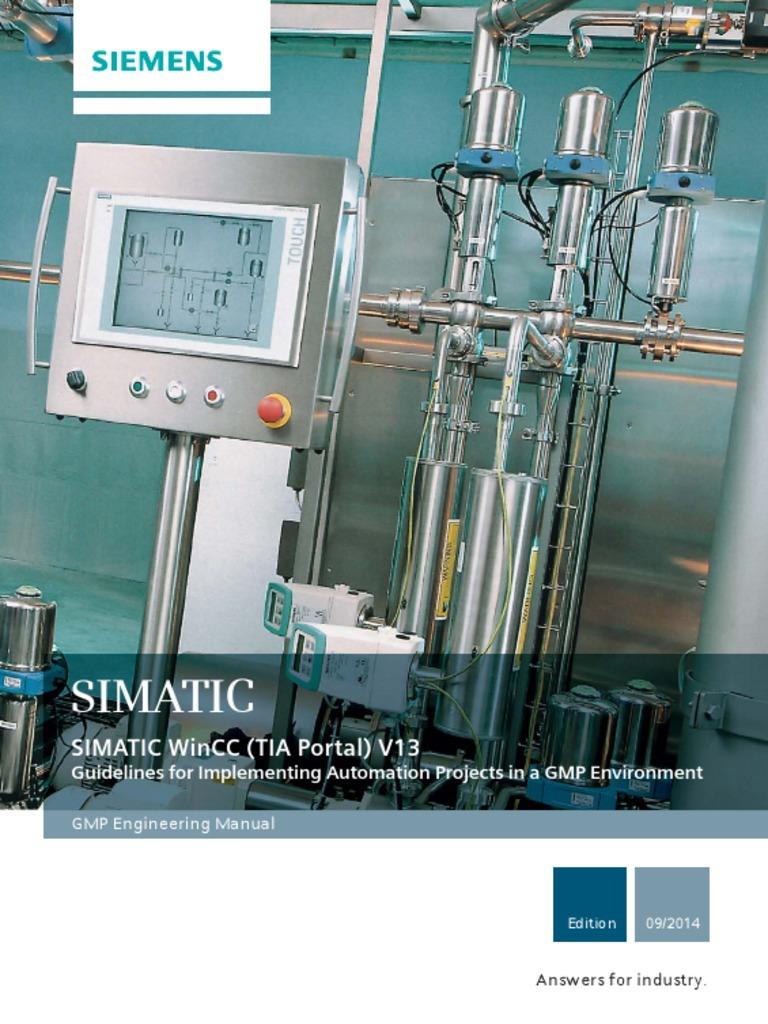 GMP Tags in Simatic WinCC v13 English   Access Control