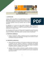 Plan de Seguimiento Tecnología 2011