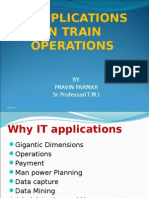 IT Applications in Operations by Sr Prof Tm