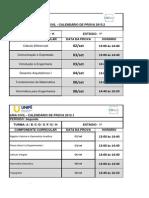 1º ESTÁGIO Calendário de Prova P1 Ao P7-Atualizado - Cópia