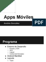Taller Aplicaciones Móviles - 2012 - 01