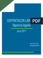 Contracion Laboral Directa e Indirecta