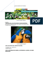 Recorrido Por Las Cinco Regiones Naturales de Colombia