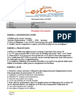 Examen de Rattrapppage Gouvernance SI
