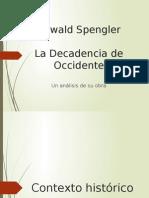 Oswald Spengler- breve paso por su historia