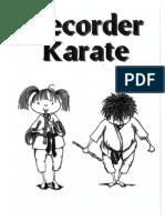 Recorder Karate Packet