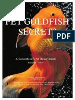 Pet Goldfish Secrets Jennifer Thomson