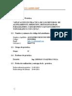 Informe de Cartaboneo Ortogonalidad