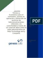 Propuesta Tecnica y Economica Hts