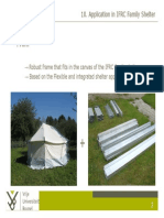 IFRC SRU SD VUB Frame for Family Tent Feasibility Study