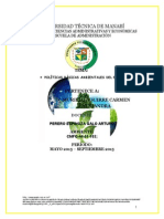 Politicas Ambientales Del Ecuador Alejandra Murillo