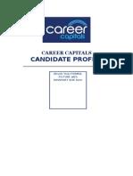 Career Capitals Standard Resume Format 2015