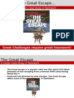Teamwork-The Great Escape