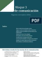 Bloque Medios de Comunicación