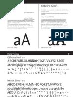 Análisis de Familias Tipográficas