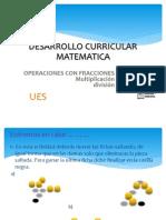 Producto y  Division de Fracciones