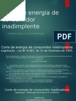Corte de Energia de Consumidor Inadimplente
