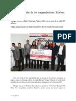 13.12.2013 ComunicadoSerá 2014 El Año de Los Emprendedores Esteban