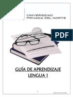 Guía de Lengua 1 2015